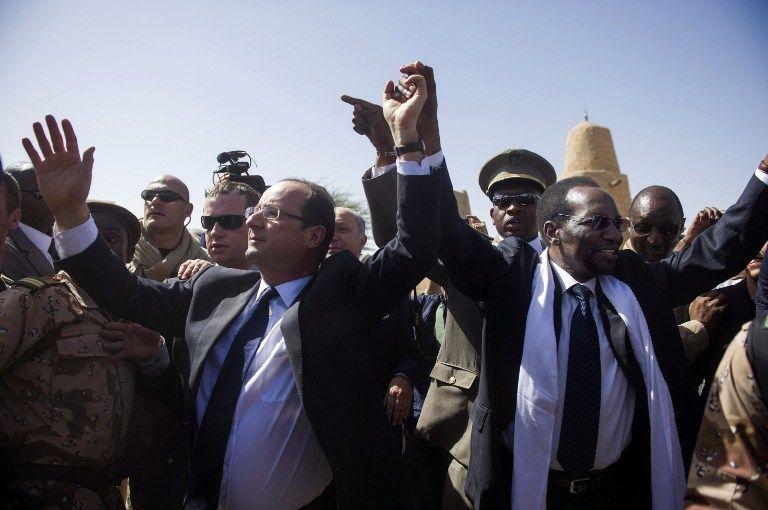 Олланд заявил, что Франция продолжит военную операцию в Мали