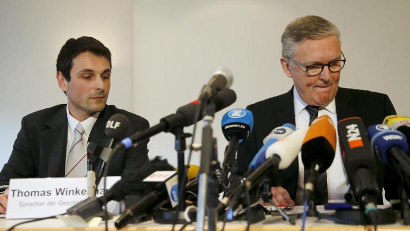 Глава Germanwings Томас Винкельман: Необходимо избегать спекуляций в вопросе крушения самолёта