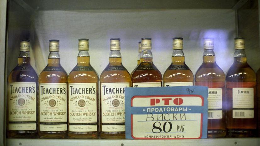 Треть всего продаваемого в России виски – подделка