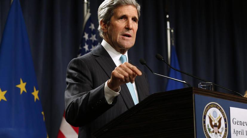 Джон Керри пригрозил России новыми санкциями в случае отсутствия мер по деэскалации украинского кризиса