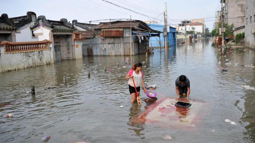 76 человек погибли в Китае в результате наводнения