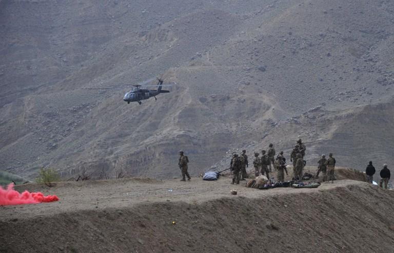 В Афганистане разбился самолет НАТО