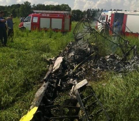 Бывший лётчик пилотажной группы «Стрижи» разбился на частном самолёте в Подмосковье