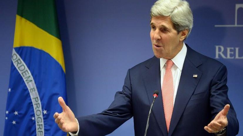 Бразилия встретила Джона Керри акциями протеста