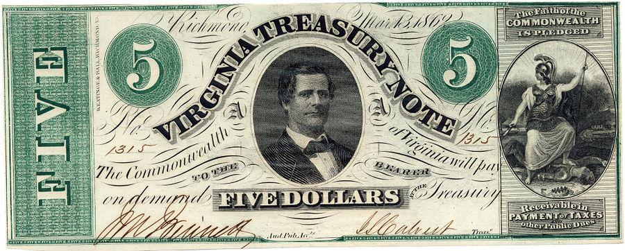 Виргиния может перейти на собственную валюту