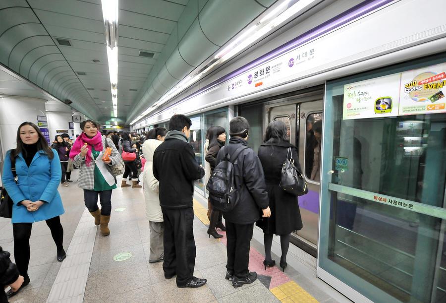 В метро Сеула столкнулись два поезда: 170 пострадавших