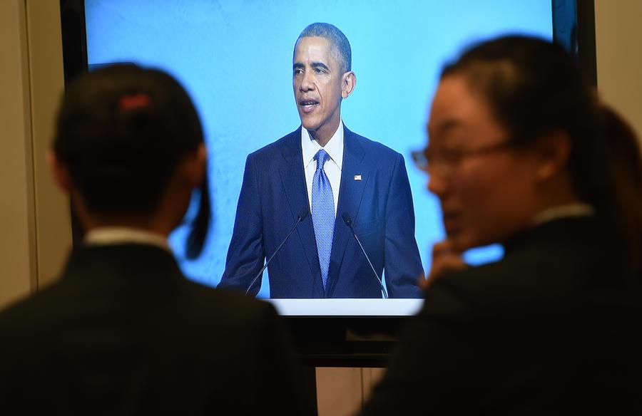 Крупнейшие телекомпании США отказались транслировать выступление Барака Обамы в прямом эфире