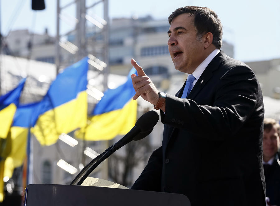 Михаил Саакашвили получил гражданство Украины и готовится занять пост главы Одесской области