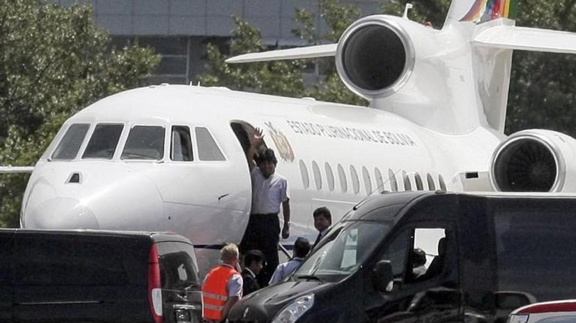 Представитель Боливии призвал ООН осудить досмотр самолёта Моралеса