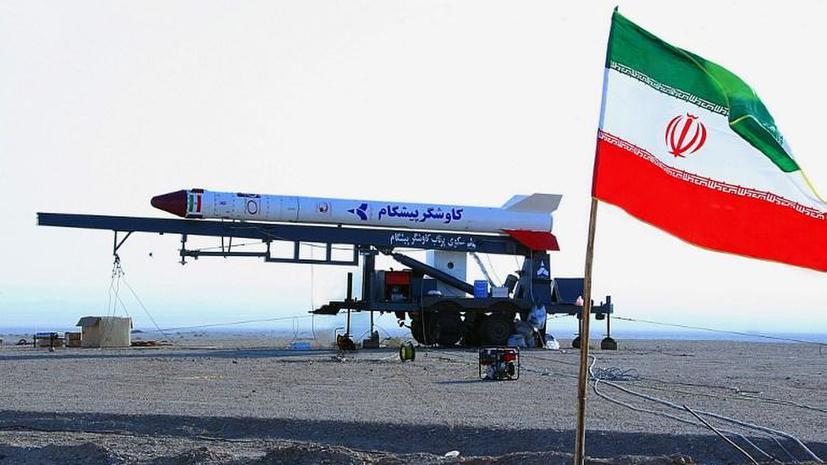 Иран стал видеть в космосе