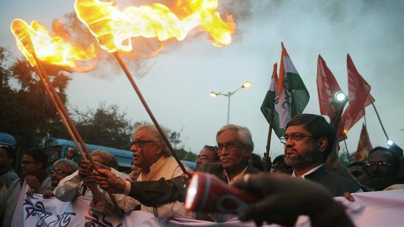 В Индии началась крупная забастовка, убит профсоюзный лидер