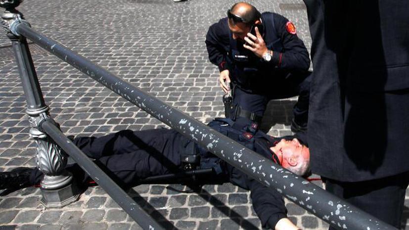 В Риме произошла перестрелка у офиса премьер-министра