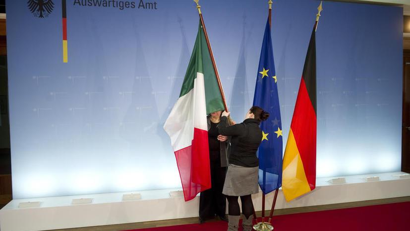 СМИ: Западные политики обвинили Италию в блокировании санкций против Москвы