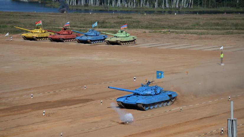 Три офицера украли топливо, предназначенное для соревнований по танковому биатлону