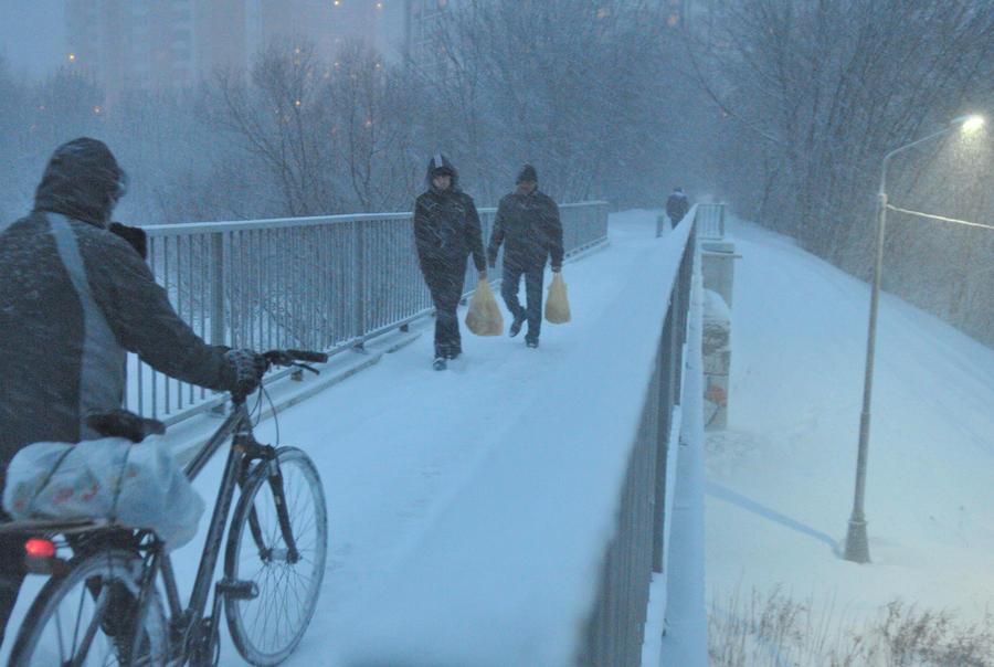 Москвичей ждет снежный понедельник