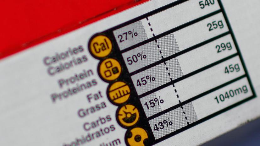Американские ученые: Информация о калориях на упаковке обманывает покупателей