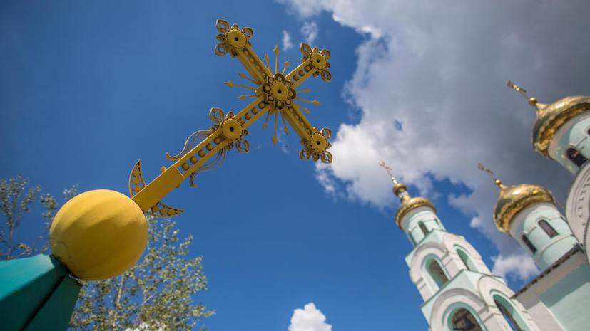 Украинские силовики обстреляли уже пятый православный храм в Славянске
