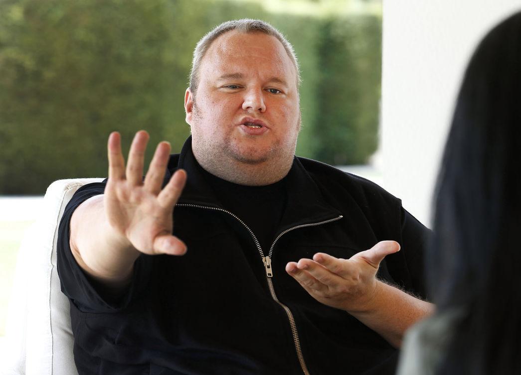 Ким Дотком заплатит хакерам €10 тыс. за «баги» на своем сайте