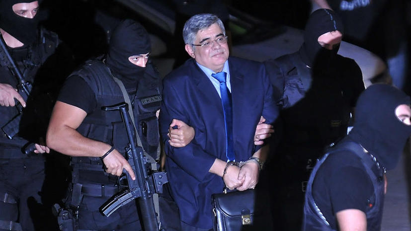 Лидера греческих неонацистов отправили в тюрьму