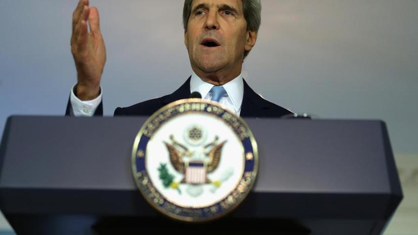 Джон Керри: США располагают доказательством применения химоружия под Дамаском