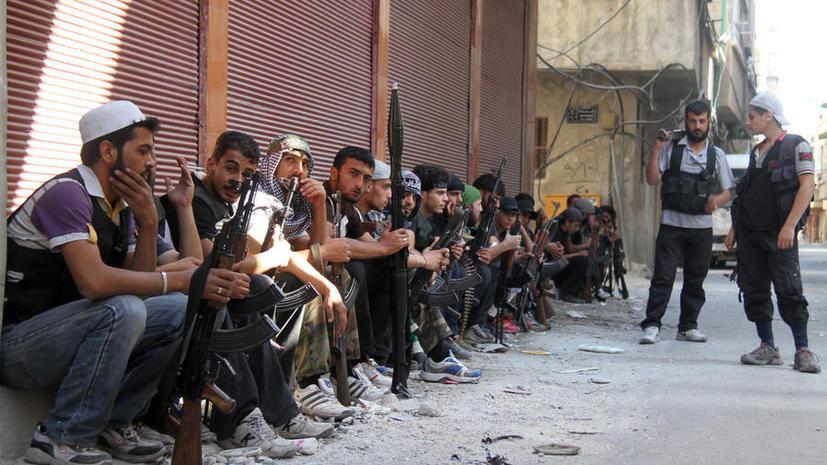 Лидер сирийской оппозиции ждёт военной помощи от Саудовской Аравии