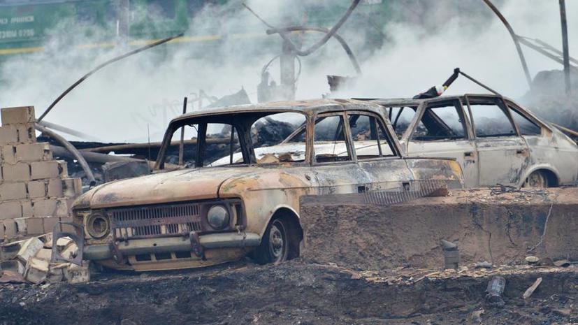 Сибирь в огне: лесные пожары добрались до Китая