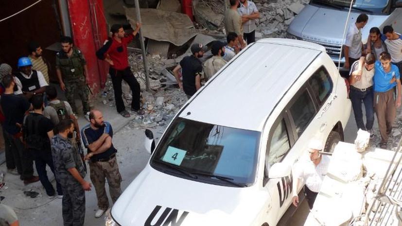 Боевики в Сирии угрожают сотрудникам ООН: уже убиты 11 человек