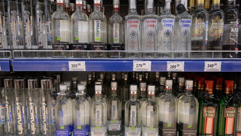 СМИ: По инициативе Госдумы с прилавков и витрин может исчезнуть алкоголь
