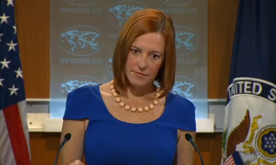 Журналисты припомнили представителю Госдепа Джен Псаки ложь американцев в ООН про химоружие в Ираке