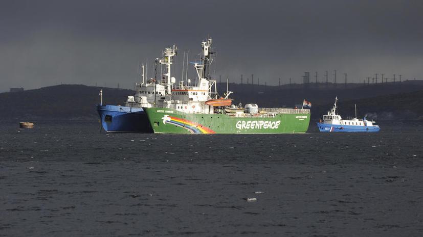 Экипаж судна «Арктик Санрайз» и активисты Greenpeace задержаны в Мурманске