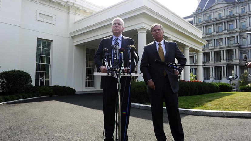 Сенаторы Грэм и Маккейн: Барак Обама теряет партнёров на Ближнем Востоке
