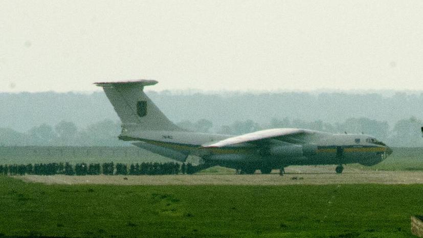 Минобороны Украины: Ополченцы в Луганске сбили Ил-76 с украинскими десантниками