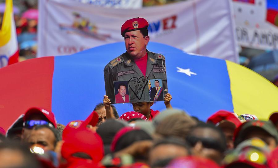 Венесуэла отдает последние почести Уго Чавесу - прямая трансляция