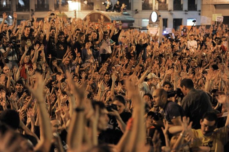 Европу захлестнула волна протестов