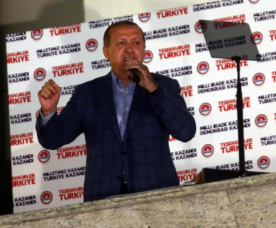 ЦИК Турции: Второго тура президентских выборов не будет, Тайип Эрдоган набрал большинство голосов