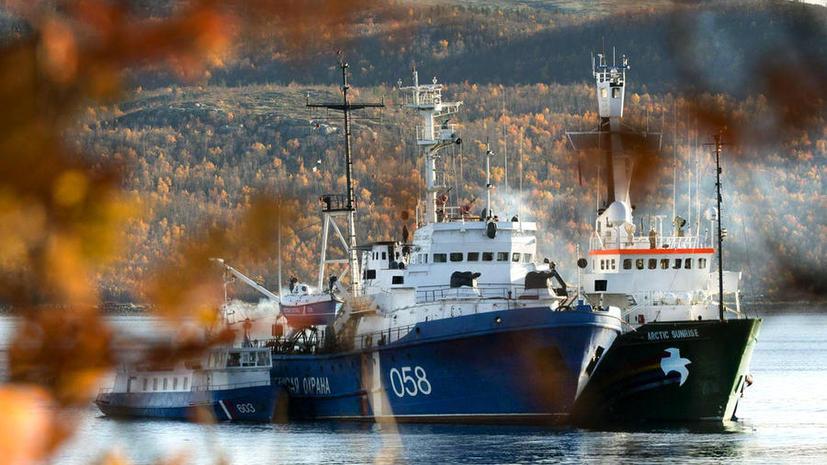 Следственный комитет: на ледоколе «Арктик Санрайз» нашли маковую соломку и морфин