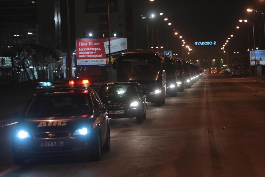 Участников «экстремистского» свадебного кортежа задержали в Дагестане