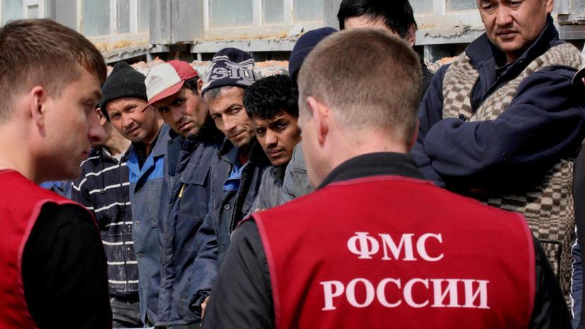 Гастарбайтерам предложат заплатить за въезд в Россию
