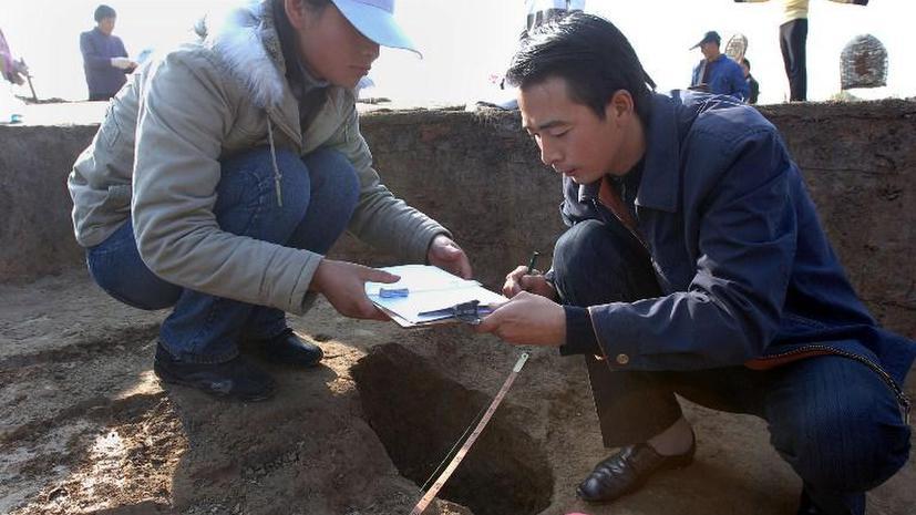 В Китае обнаружили неизвестную форму древней письменности