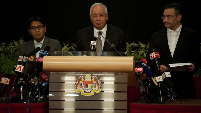 Премьер-министр Малайзии: Пропавший Boeing упал в южной части Индийского океана