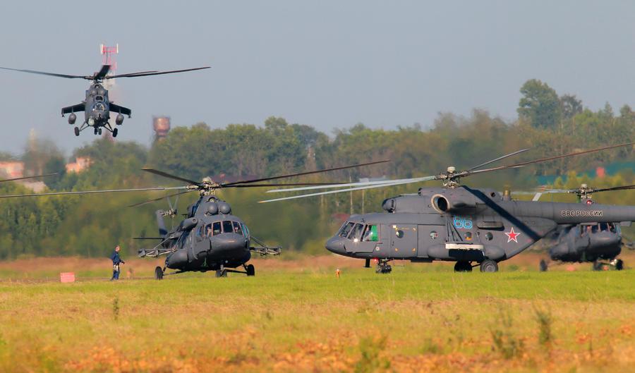 Россия начала поставки вертолётов и ракет в Ирак