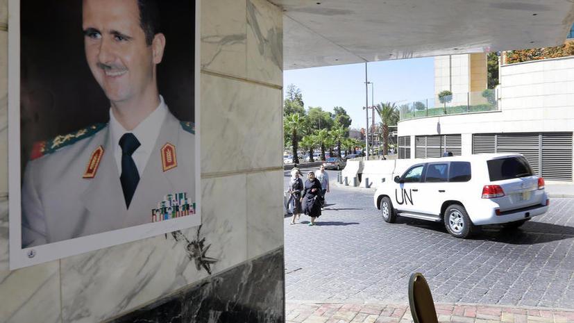 Запад отказался помогать Сирии вывозить химоружие из страны