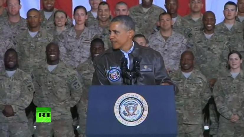 Обама намерен оставить в Афганистане почти 10 тыс. американских военнослужащих