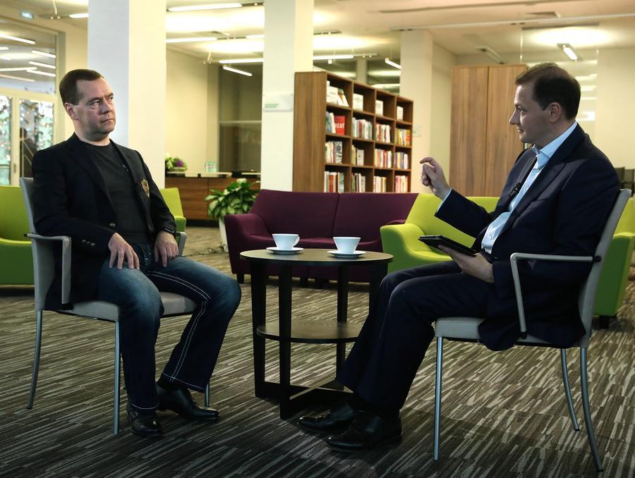 Дмитрий Медведев: РФ будет отстаивать свои интересы и взыскивать долги с Украины