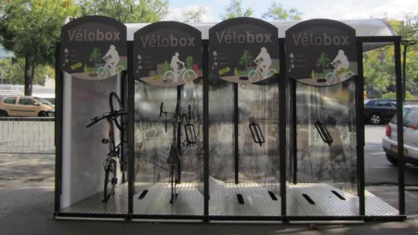 Рядом с метро и на вокзалах Москвы появятся велобоксы