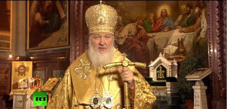 В храме Христа Спасителя в Москве прошло ночное рождественское богослужение