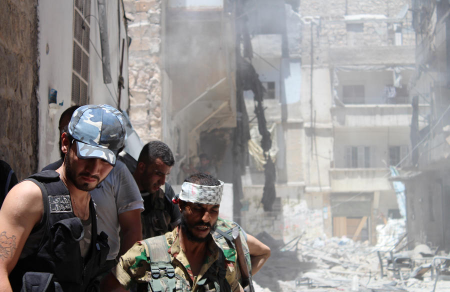 Сирийская оппозиция обстреливает мирные кварталы Хомса неуправляемыми ракетами