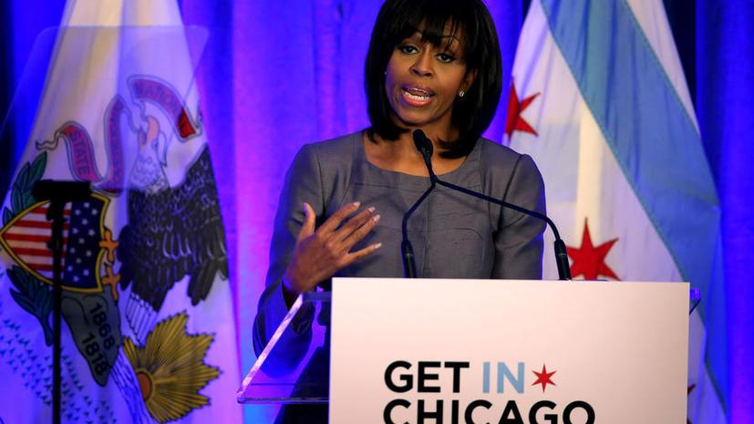 Мишель Обама рассказала свою историю в преддверии дебатов о запрете оружия