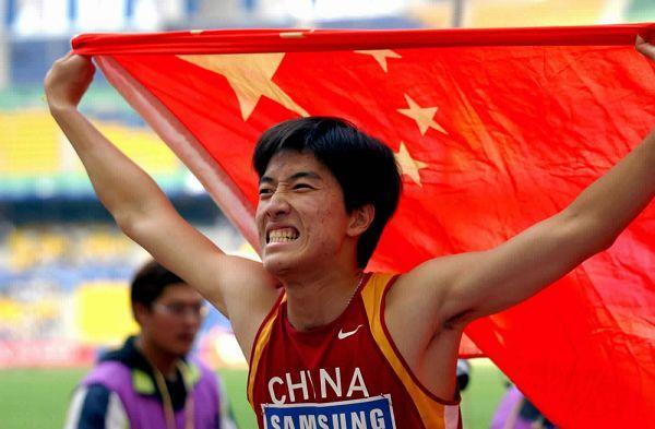 Знаменитый китайский легкоатлет – Лю Сян