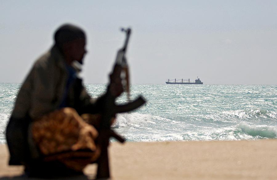 Защищать суда от сомалийских пиратов будет частный флот